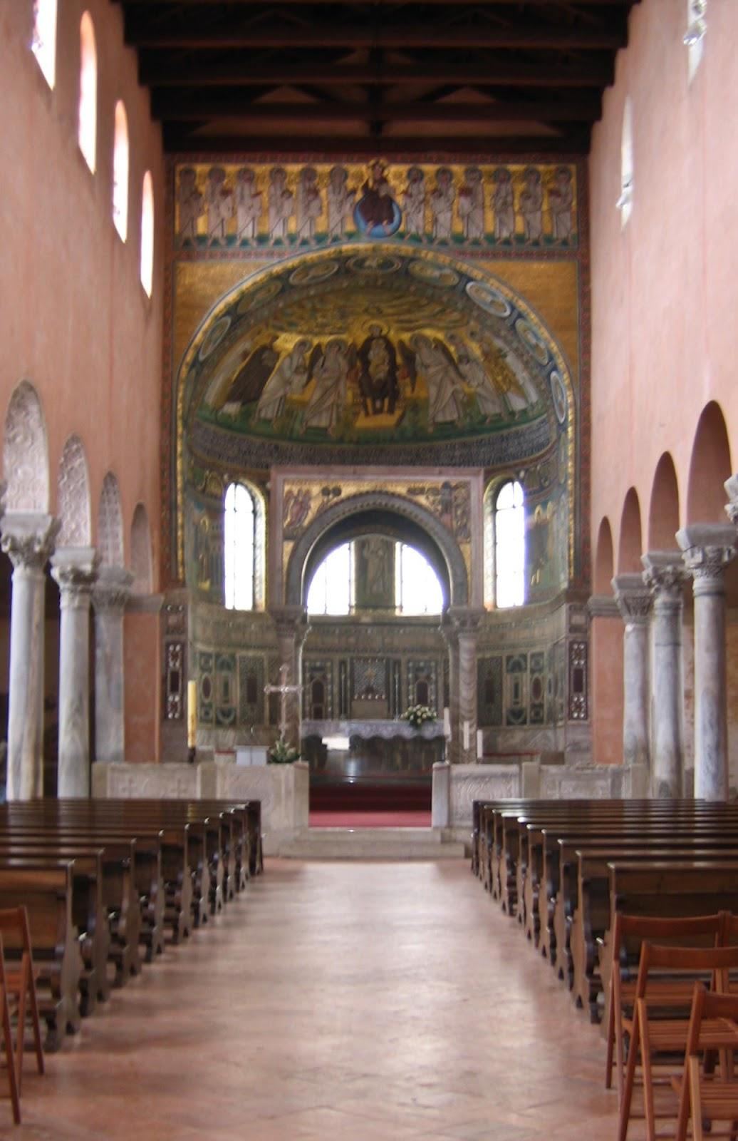 Porec - Biserica Euphrasius cu mozaicuri bizantine