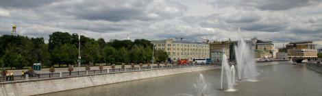 Cu vaporașul pe Moskva
