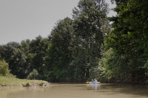 2014-07-06 13 Cu caiacul pe Neajlov