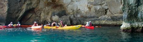 Cu caiacul pe Mediterana
