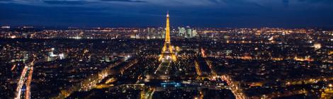 Parisul la asfințit