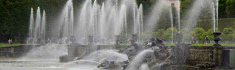 Versailles - prin grădini