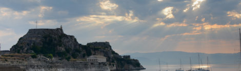 Corfu - în golful Garitsa