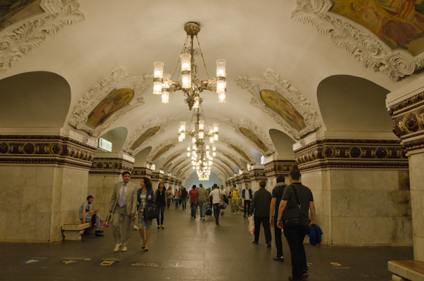 2014-06-21 37 Moscova - Metrou Statia Kievskaia
