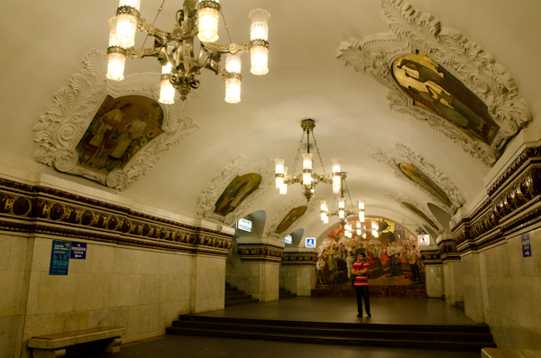 2014-06-21 39 Moscova - Metrou Statia Kievskaia