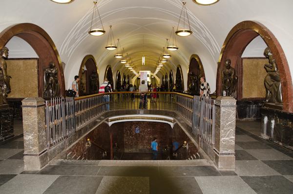 2014-06-21 55 Moscova - Metrou Statia Ploșciad Revolitci