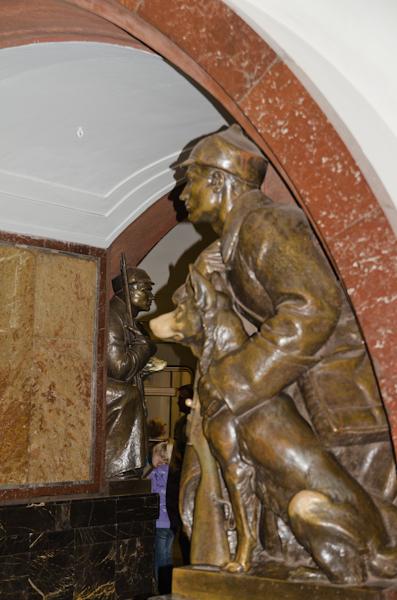 2014-06-21 57 Moscova - Metrou Statia Ploșciad Revolitci