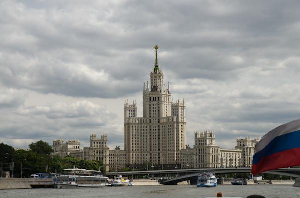 2014-06-22 120 Moscova - Cu vaporașul pe Moskwa