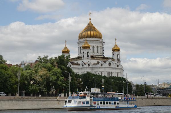 2014-06-22 94 Moscova - Cu vaporașul pe Moskwa